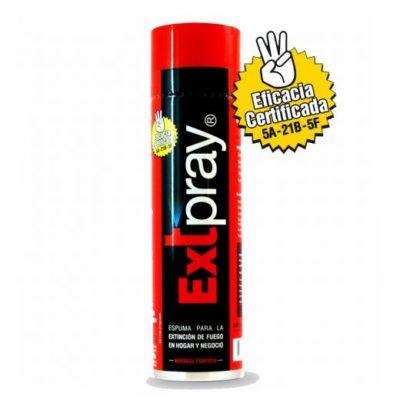 aerosol extpray sin revision extintores