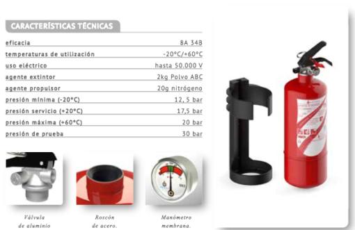 extintor 1kg polvo 5a 21 b comprar extintores