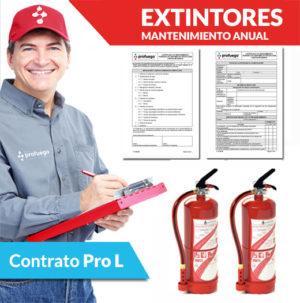 mantenimiento anual extintores comprar extintor