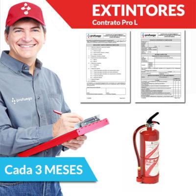 mantenimiento trimestral extintores comprar extintor