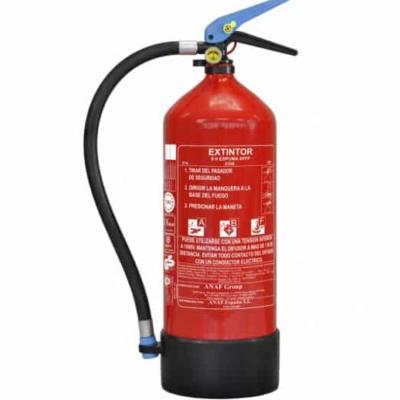 extintor 6 litros espuma afff